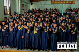grados del Instituto Ferrini CORFERRINI en el Municipio de La Ceja