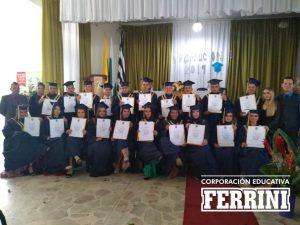 Grados del Instituto Ferrini - CORFERRINI en el municipio de Marinilla