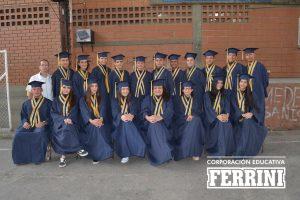 Grados Instituto Ferrini Itagui