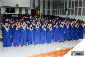 Ceremonia de grados Instituto Ferrini CORFERRINI Girardota