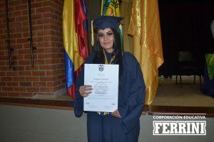 grados del Instituto Ferrini CORFERRINI Sabaneta