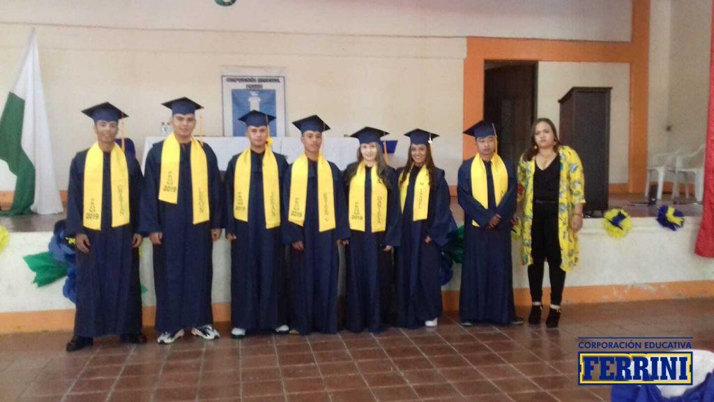 Ceremonia de grados Venecia - Instituto Ferrini CORFERRINI