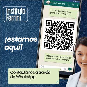 Información de Contacto Instituto ferrini sede Calasanz