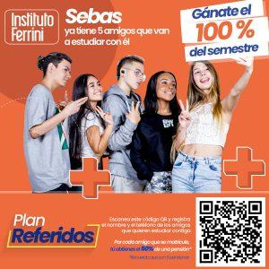 plan referidos Instituto Ferrini sede Calasanz